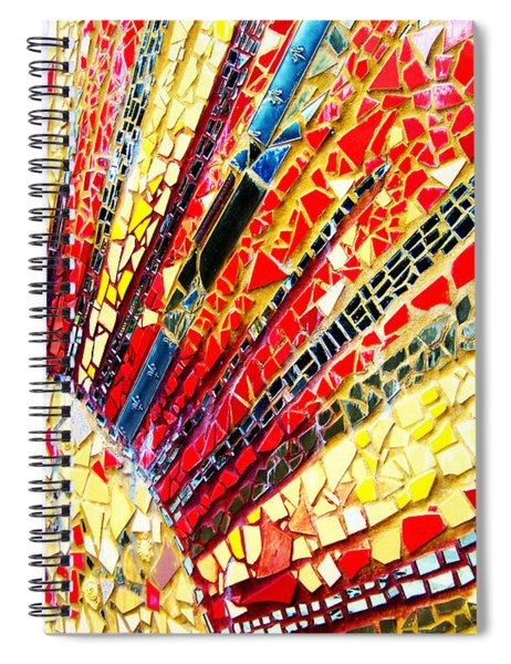 Living Edgewater Mosaic Spiral Notebook