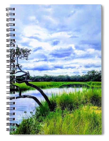 Living Low Spiral Notebook