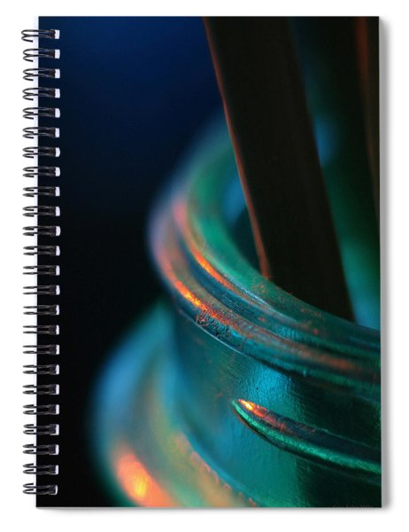 Living On The Edge... Spiral Notebook