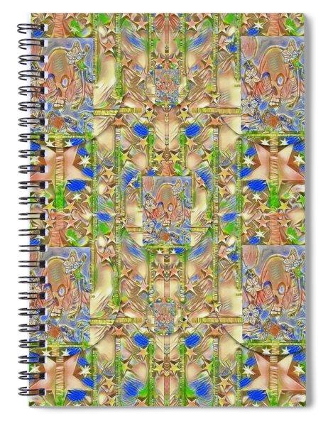 Lizard And A Skull Spiral Notebook