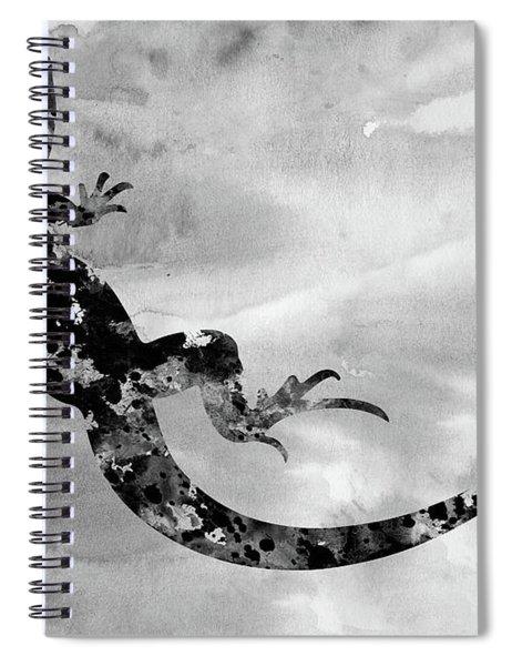 Lizard-black Spiral Notebook