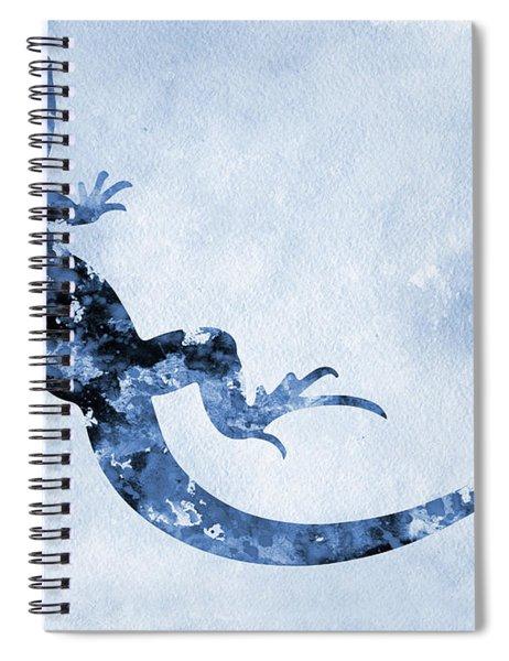 Lizard-blue Spiral Notebook