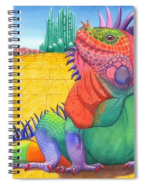Lizard Of Oz Spiral Notebook