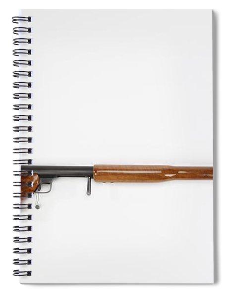 Ljutic Space Rifle Spiral Notebook