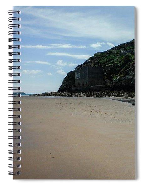 Llandbedrog Headland, Lleyn Peninsula, North Wales Spiral Notebook