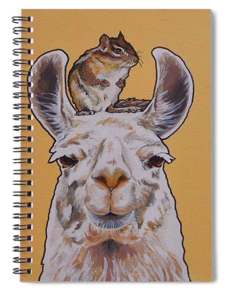 Llois The Llama Spiral Notebook