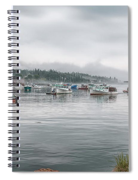 Lobster Fleet Spiral Notebook