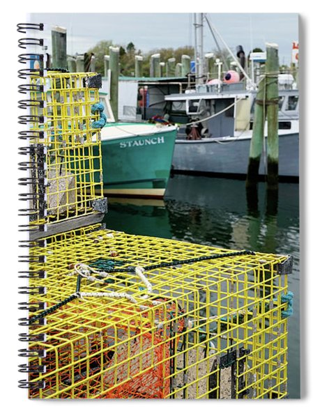 Lobster Traps In Galilee Spiral Notebook