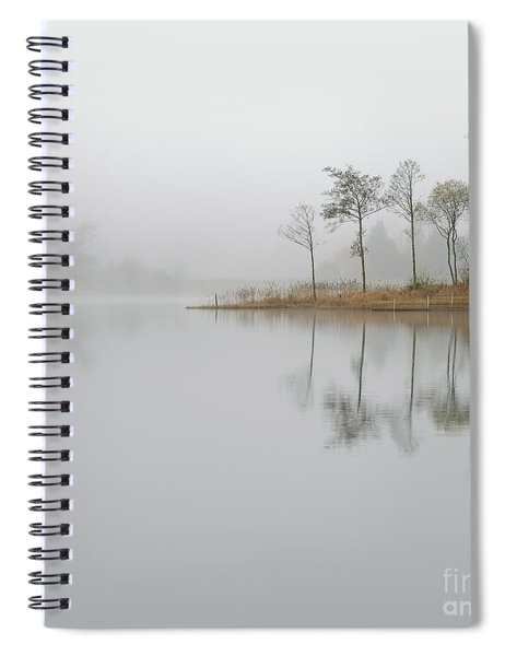 Loch Ard Misty Sunrise Spiral Notebook