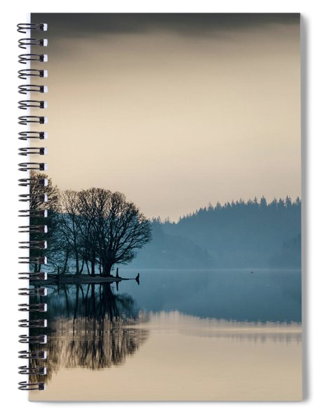Loch Ard Reflection Spiral Notebook