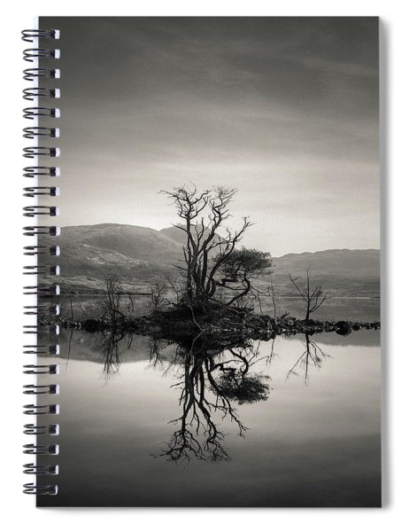 Loch Assynt Reflection Spiral Notebook
