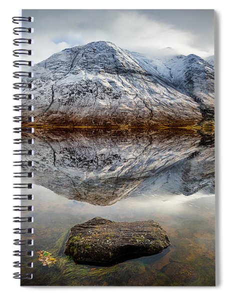 Loch Etive Reflection Spiral Notebook