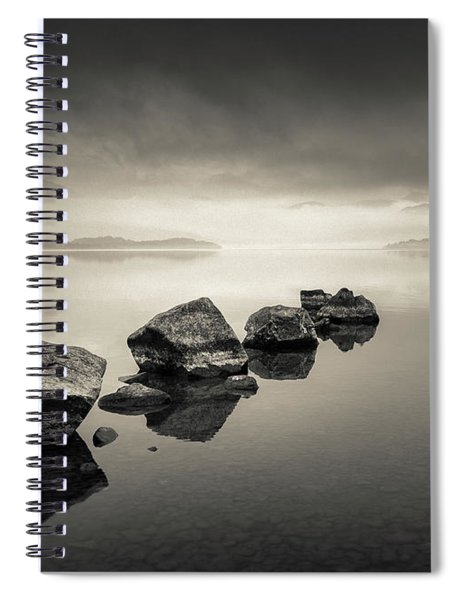 Loch Lomond Dawn Spiral Notebook