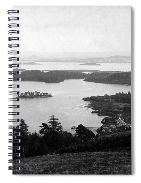 Loch Lomond Islands From Above Luss Spiral Notebook