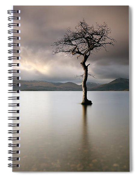 Loch Lomond Lone Tree Spiral Notebook