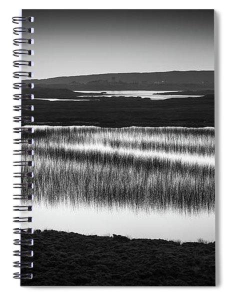 Loch Na Maracha, Isle Of Harris Spiral Notebook