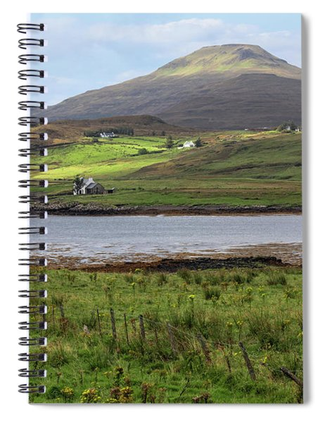 Loch Vatten - Isle Of Skye Spiral Notebook