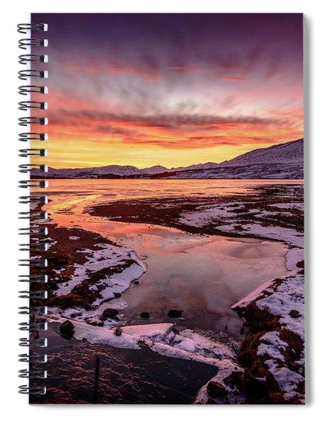 Lochan Na H-achlaise, Twilight Spiral Notebook