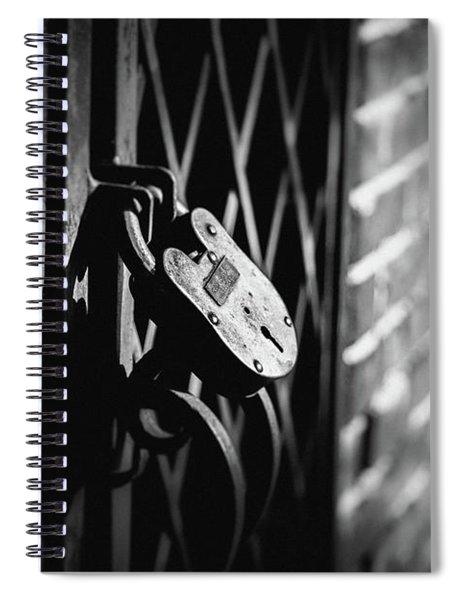 Locked Away Spiral Notebook