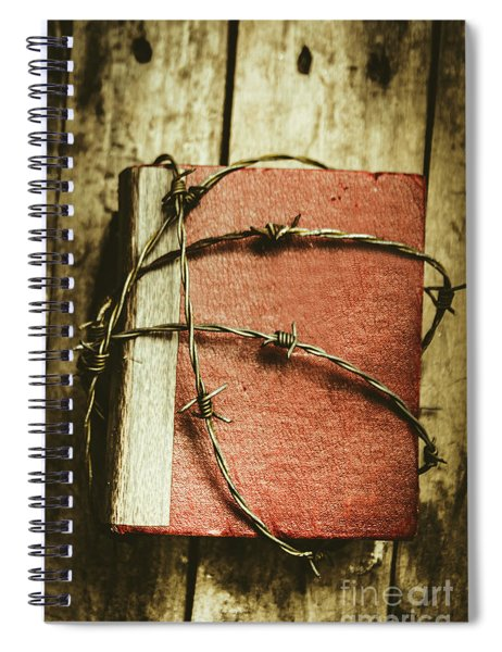 Locked Diary Of Secrets Spiral Notebook