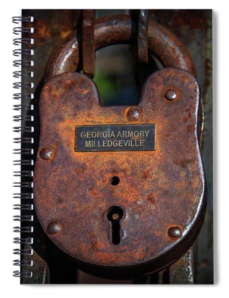 Locked Up Tight Spiral Notebook