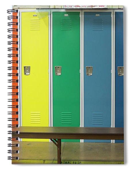 Lockers Spiral Notebook