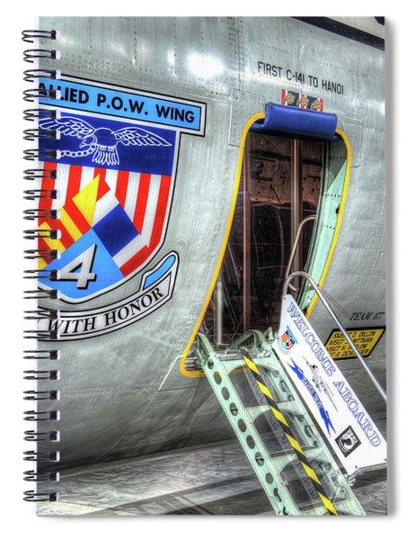 Lockheed C-141c Starlifter, Hanoi Taxi Spiral Notebook
