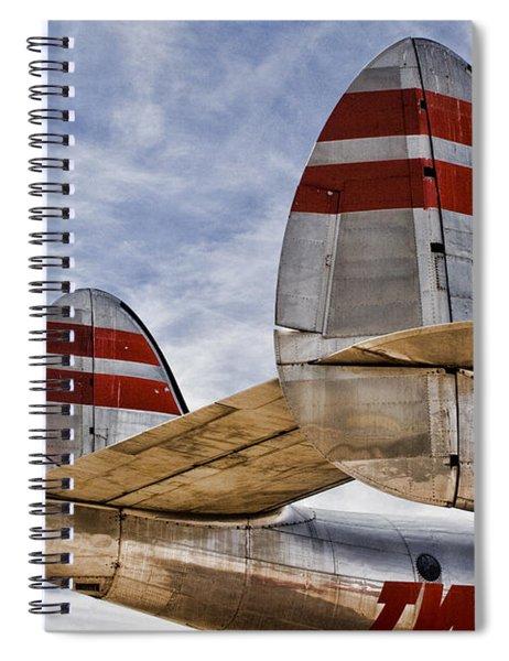 Lockheed Constellation Spiral Notebook