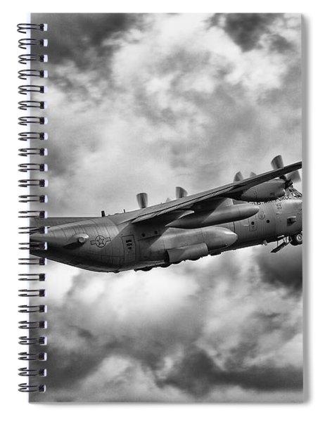 Lockheed Martin C-130 H Hercules Spiral Notebook