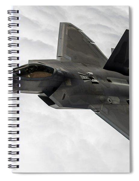Lockheed Martin F-22 Raptor, 2015 Spiral Notebook