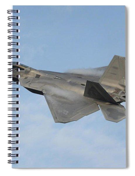 Lockheed Martin F-22 Raptor, 2016 Spiral Notebook