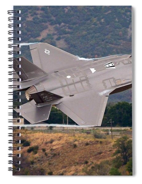 Lockheed Martin F-35 Lightning II, 2015 Spiral Notebook