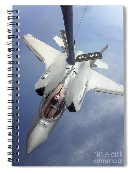 Lockheed Martin F-35 Lightning II, 2016 Spiral Notebook