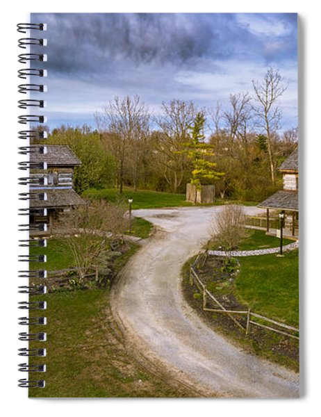 Log Cabins Spiral Notebook