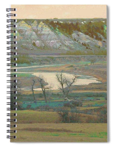 Logging Camp River Reverie Spiral Notebook