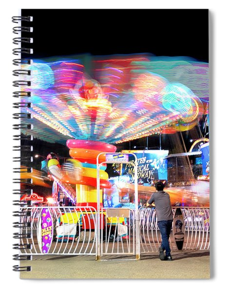 Lolipop Wheel- Spiral Notebook
