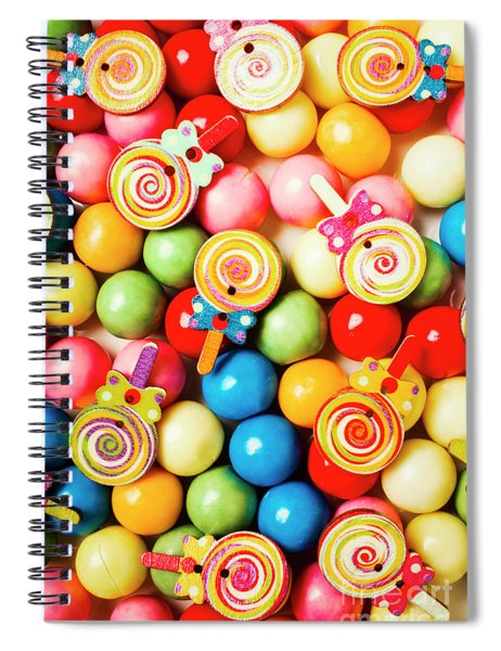 Lolly Shop Pops Spiral Notebook