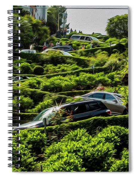 Lombard Street Spiral Notebook