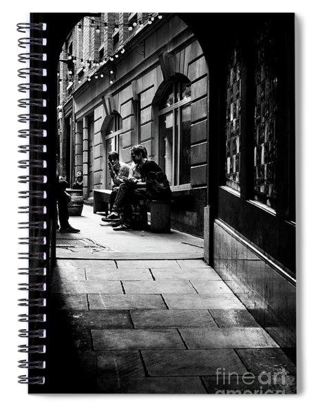London Backstreet Alley Spiral Notebook