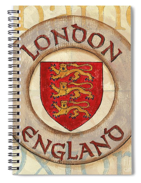 London Coat Of Arms Spiral Notebook