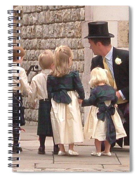 London Tower Wedding Spiral Notebook