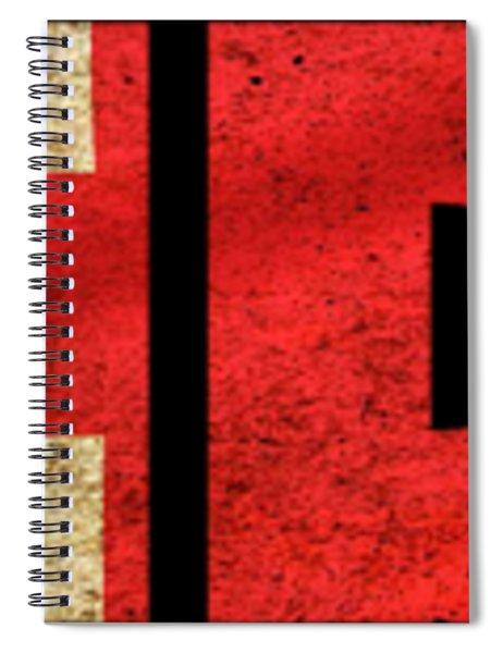 London Vintage British Flag Tee Spiral Notebook