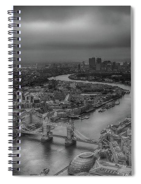 London's Calling Spiral Notebook