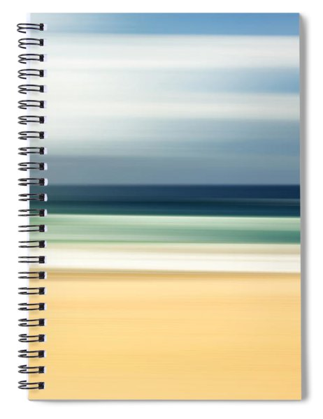 Lone Beach Spiral Notebook