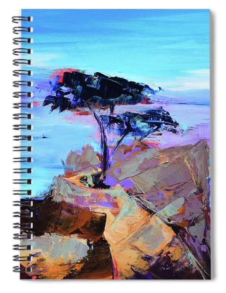 Lone Cypress - California Spiral Notebook