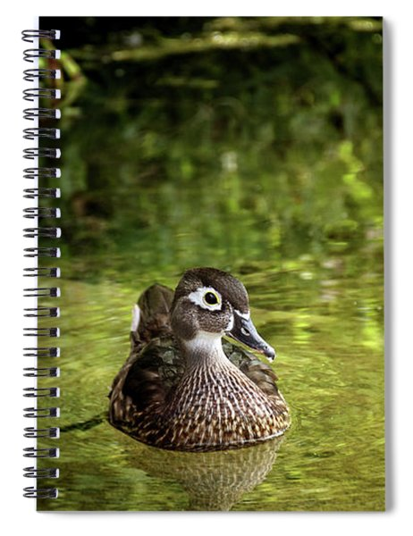 Lone Duckling Spiral Notebook