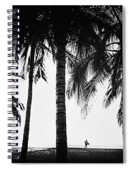 Lone Wolf Spiral Notebook