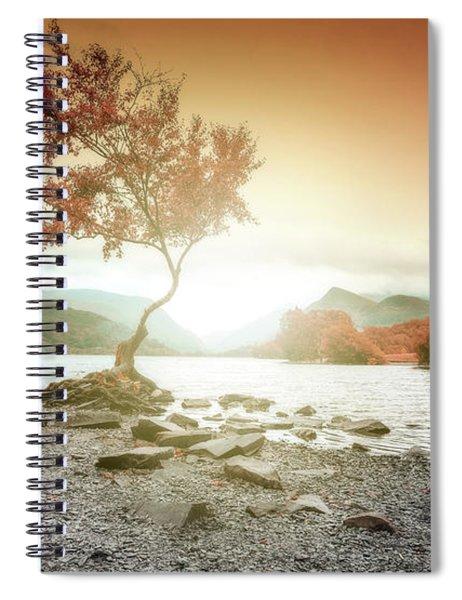 Lone Tree Wales Llyn Pardarn, Llanberis Spiral Notebook