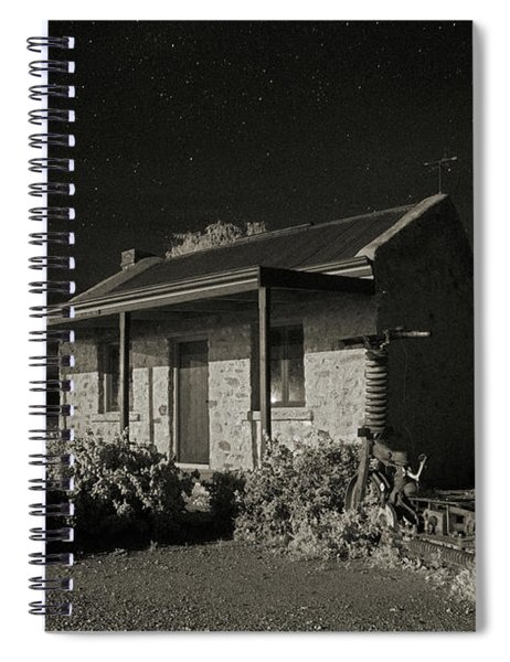 Lonely Nights Spiral Notebook