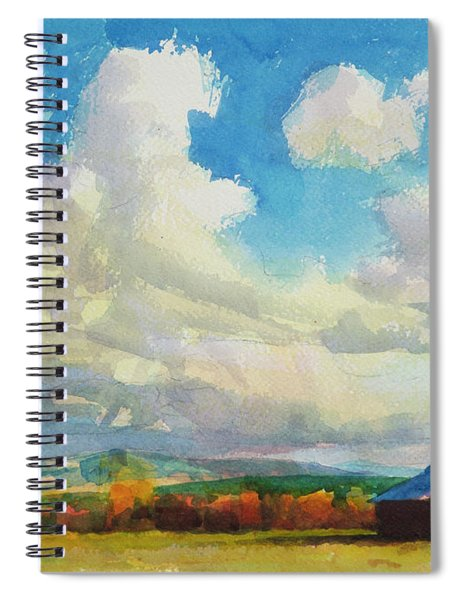 Lonesome Barn Spiral Notebook